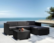 Outdoor Sectional Sofa and Coffee Table in Modern Style 44P376-SET