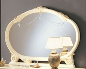 Oval Bedroom Mirror Romana European Design Made in Italy 33B486