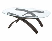 Oval Cocktail Table Forum by Magnussen MG-T2545-47