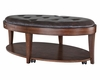 Oval Cocktail Table with Casters Keaton by Magnussen MG-T2536-47