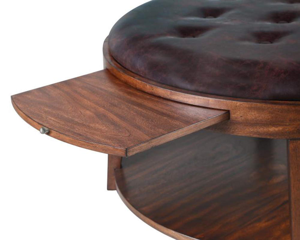 Oval Cocktail Table With Casters Keaton By Magnussen Mg