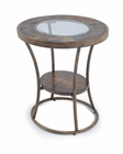 Oval End Table Desoto by Magnussen MG-T3048-07