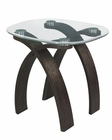 Oval End Table Forum by Magnussen MG-T2545-07