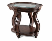 Oval End Table Isabelle by Magnussen MG-T2538-07