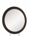 Oval Mirror Agata in Wenge Finish 35B66