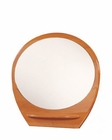 Oval Mirror Elma in Cherry Finish 35B16