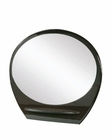Oval Mirror Elma in Wenge Finish 35B26