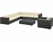 Palm Patio Sectional Set by Modway MY-EEI654