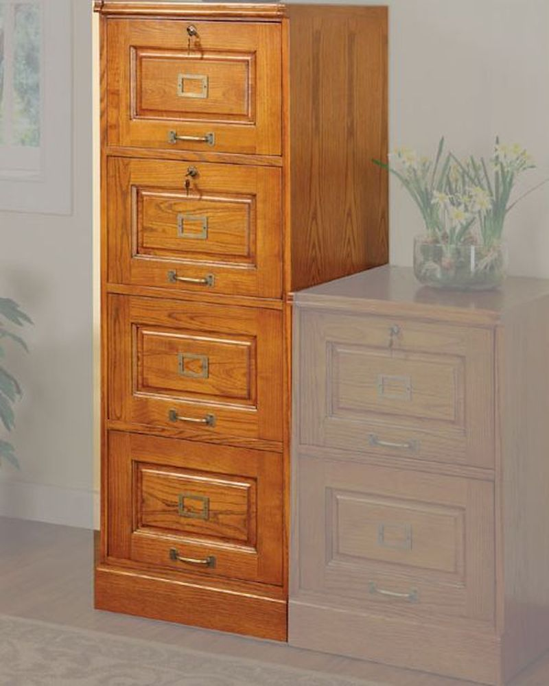 oak file cabinets palmetto oak file cabinet with 4 drawers co5318n 23846