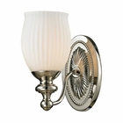 ELK Park Ridge Collection 1 light bath in Polished Nickel - LED EK-11640-1-LED