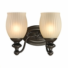 ELK Park Ridge Collection 2 light bath in Oil Rubbed Bronze- LED EK-11651-2-LED