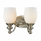 ELK Park Ridge Collection 2 light bath in Polished Nickel- LED EK-11641-2-LED