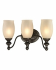 ELK Park Ridge Collection 3 light bath in Oil Rubbed Bronze EK-11652-3