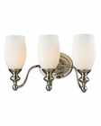 ELK Park Ridge Collection 3 light bath in Polished Nickel EK-11642-3