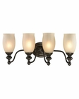 ELK Park Ridge Collection 4 light bath in Oil Rubbed Bronze EK-11653-4
