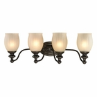 ELK Park Ridge Collection 4 light bath in Oil Rubbed Bronze - LED EK-11653-4-LED