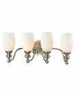 ELK Park Ridge Collection 4 light bath in Polished Nickel EK-11643-4