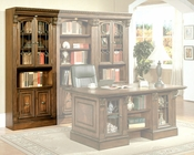 "Parker House 32"" Glass Door Bookcase/Wine Center PH-HUN-440"