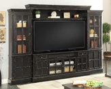 Parker House 72in TV Entertainment Center Wall Unit Concord PH-CON-172-4