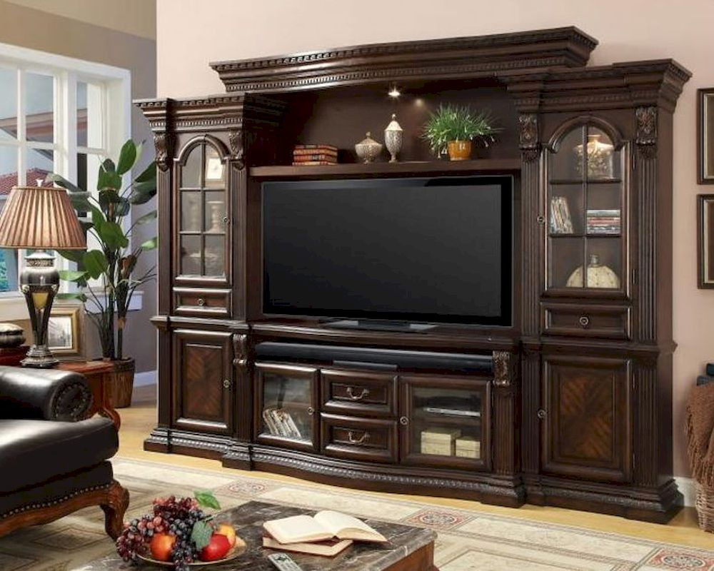 Parker house bella wall entertainment center ph bel 700 4 Home entertainment center