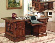 Parker House Double Pedestal Executive Desk PH-BAR-480-3
