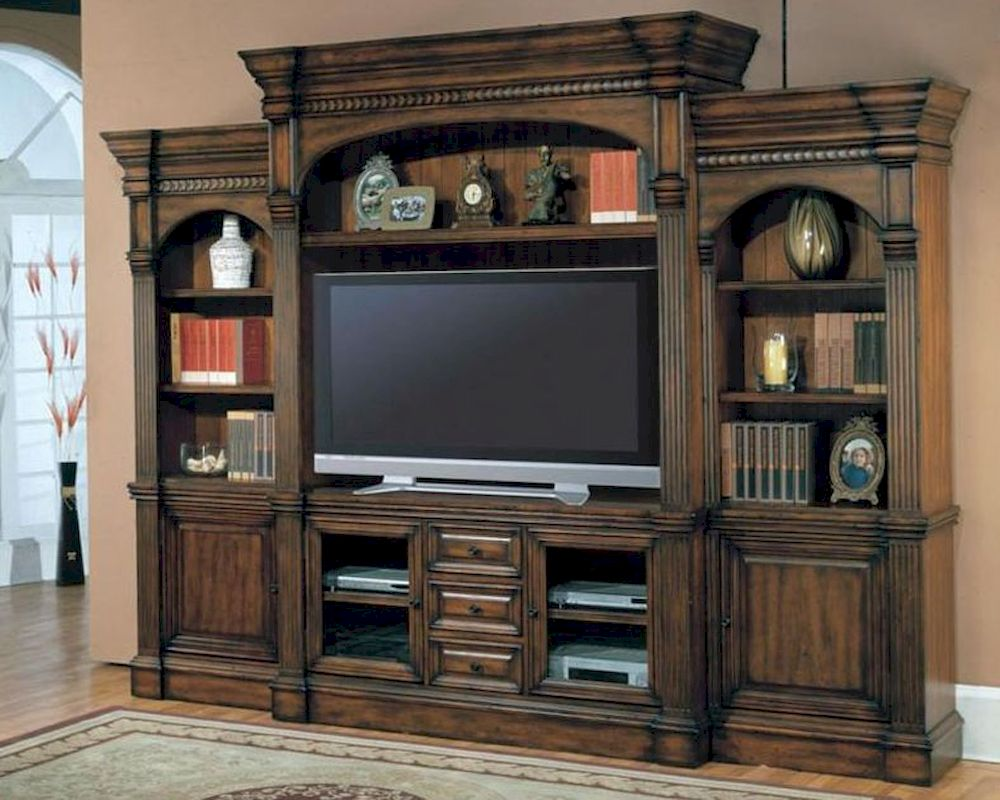 Parker House Entertainment Wall Unit Genoa PH GEN 600 5WS