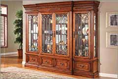 Parker House Furniture - Display Cabinets