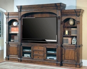 Parker House Genoa Entertainment Wall Unit PH-GEN610-5WS