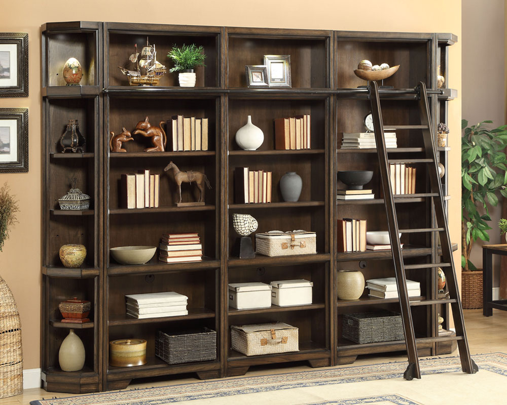 parker house home office set w bookcases meridien ph mer