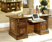 Parker House Huntington Double Pedestal Desk PH-HUN-480-3