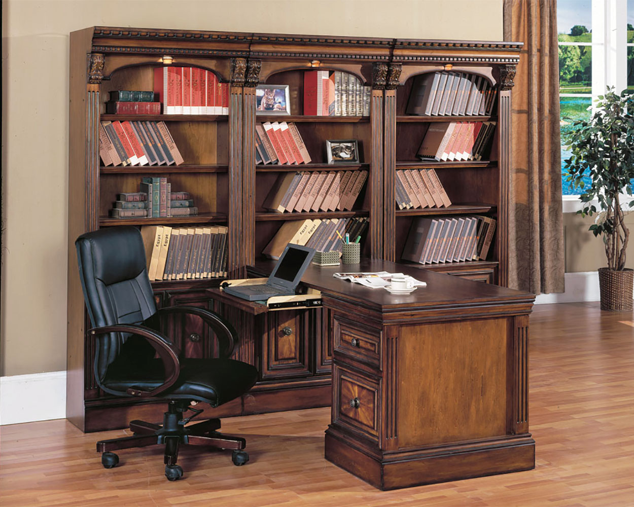 Hom Office Furniture: Parker House Huntington Home Office Furniture PH-HUN-3