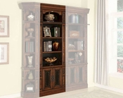 Parker House Leonardo 32in Open Top Bookcase PH-LEO-430