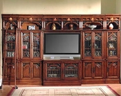 Parker House Library Entertainment Center Set PH-BAR-4