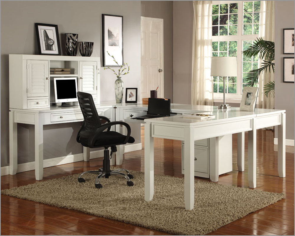 Best Color Home Office White Furniture