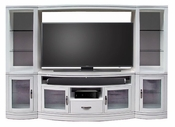 Black Entertainment Center Wall Unit home entertainment wall units | wall entertainment centers