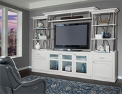 Parker House TV Entertainment Center Wall Unit Skyline