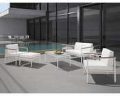 Patio Lounge Set w/ Coffee Table in Contemporary Style 44PH68-SET