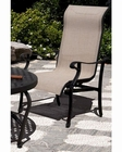 Patio Sling Chat Chair Miramar by Sunny Designs SU-4706-A3 (Set of 4)