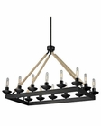 ELK Pearce Collection 14 Light Chandelier in Matte Black EK-15904-14