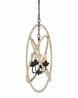 ELK Pearce Collection 4 Light Chandelier in Matte Black EK-15901-4