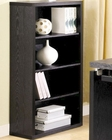 Peel Bookcase with 4 Shelves CO800823