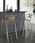 Perch Indoor-Outdoor Bar Stool in Natural by Modway MY-EEI851