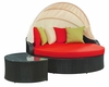 Perectiona Canopy Outdoor Daybed in Espresso by Modway MY-EEI731ER