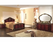 Platform Bedroom Set Caesar Classic Style Made in Italy 33B451