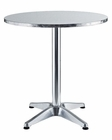 Pool Indoor-Outdoor Pub Table in Silver by Modway MY-EEI-547-SLV
