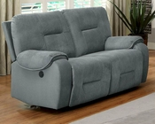 Power Reclining Loveseat Bensonhurst by Homelegance EL-9634-2PW