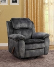 PRI Recliner Katie Swivel in Pewter PR-1024-006-032