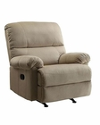PRI Easton Rocker Recliner in Beige PR-DS-1098-007-082