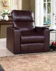 PRI Larson Power Recliner w/ USB & Storage in Cocoa PR-1985-178-111