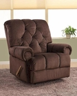 PRI Lawrence Rocker Recliner in Godiva PR-1082-007-089